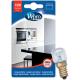 Lampe poirette four et frigo 300° E14 T22 WHIRLPOOL LFO137