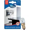 Lampe poirette four et frigo 300° E14 T22 WHIRLPOOL LFO137 - 484000008843